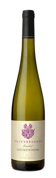 Gewürztraminer selection TURMHOF white wine indigenous grape variety South Tyrol DOC winery Tiefenbrunner