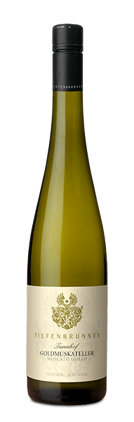 Moscato Giallo selection TURMHOF white wine South Tyrol DOC winery Tiefenbrunner